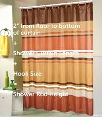 standard curtain lengths. Standard Size Shower Curtain A Guide Linen Store With What Lengths Do Curtains Come In Length N