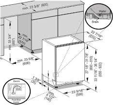 miele dishwasher installation. Brilliant Dishwasher Miele Crystal Dimensions Diagram Inside Dishwasher Installation L