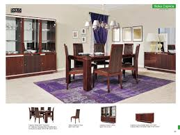 Image Glass Caprice Italian Dining Room Set In Brown Color Touch To Zoom United Furniture Group Caprice Italian Dining Room Set In Brown Color