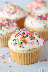 cupcakes. Beautiful Cupcakes Vanilla Cupcakes With Vanilla Ice Cream And Rainbow Sprinkles For Cupcakes H