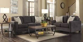 alenya charcoal sofa loveseat set 1660 ac