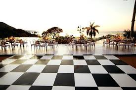 Outdoor Dance Floor Ideas Reception Photos With Lights After Throughout