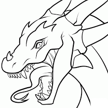 pages for s library free coloring book clip art library src dragon outline drawing at getdrawings free for personal use