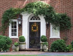 red front door on brick house. Full Size Of Red Brick House With Black Trim White Color Schemes Exterior Front Door On