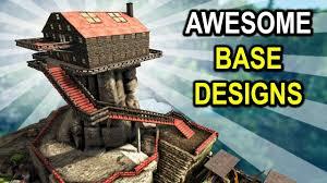 Ark Pve Base Designs Ark Base Showcases On Ragnarok Ark Survival Evolved Base Designs