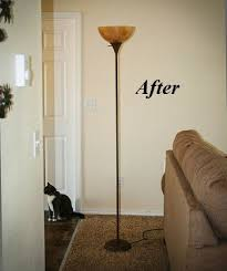 cheap floor lighting. diy rustic torchiere floor lamp makeover you wonu0027t even recognize your cheap plastic lighting