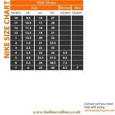 Nike Shoe Size Chart Eu Nike Shoes Size Chart Australia