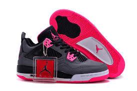 4 Jordans 2017 Black Jordan Pink Womens Air Women Gs Hyper Grey