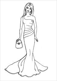 Small Picture 21 Barbie Coloring Pages Free Printable Word PDF PNG JPEG