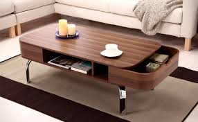 The tabletop and base offer plenty of storage space. 70 Incredibly Unique Coffee Tables You Can Buy Awesome Stuff 365