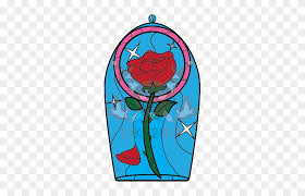 beauty and the beast rose tattoo by lady clipart beauty and the beast rose stainedglass