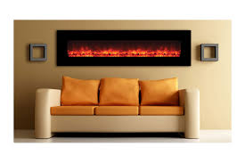 modern wall mounted electric fireplace