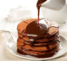 Image result for chocolate pancakes