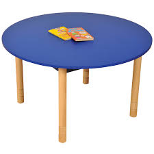height adjule beechwood round table