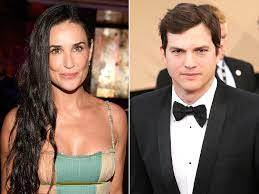 Relationship with Ex-Wife Demi Moore ...