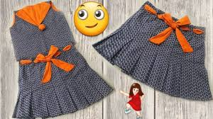 Baby Frock Design 2018 Cutting Beautiful And New Design 2018 Baby Skirt Making Simple Way