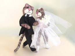 wedding cake topper funny cats wedding cake topper cat bouquet Wedding Cake Toppers Ginger Groom wedding cake topper funny cats wedding cake topper cat bouquet veil white beige brown ginger bride and groom pink animal cute love heart red Funny Wedding Cake Toppers