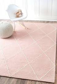 pink rug for nursery 5x7 light round pink rug