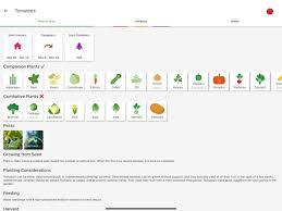 planter garden planner on the app