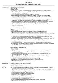 Resume Online Online Sales Resume Samples Velvet Jobs 73