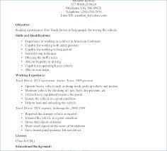 Garbage Truck Driver Resume Resume Layout Com