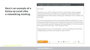 Networking Email Template Awesome Collection Of Thank You After ...