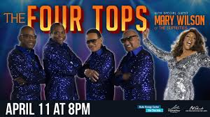 Последние твиты от mary wilson (@marywilsonnews). The Four Tops With Mary Wilson Of The Supremes I Love The Burg