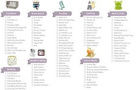 Free New Baby Checklist Printable Items Needed For Newborn