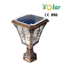 China Wholesale Solar Led Lights For Garden Crafts Solar Gate Garden Solar Lights For Sale