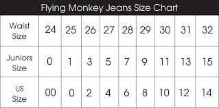 Size Chart Dorinha Jeans Wear Brazilian Designer Jeans