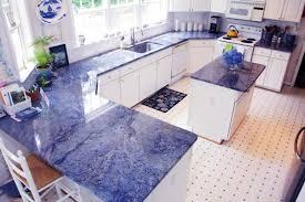image of good blue granite countertops