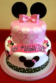 Minnie Mouse Birthday Cake Toppers — Wow Minnie Mouse