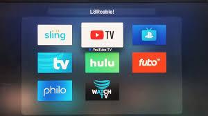 Dish Tv Packages Comparison Chart Hulu Vs Youtube Tv Vs Sling Tv Vs Directv Now Vs