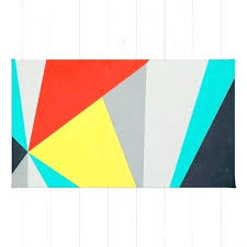 colorblock rug color block aggressive by rugs vintage rugby shirt