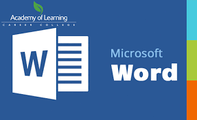Mirco Soft Word Microsoft Word 2013 Academy Of Learning