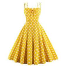 <b>Sisjuly</b> vintage summer spaghetti strap sleeveless <b>polka dots</b> dress ...