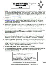 Acc Early College Start Dual Credit And Concurrent