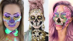 this makeup artist s viral skull makeup is ing up on insram allure