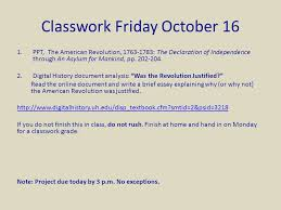friday chapter the american revolution ldquo the end ppt the american revolution 1763 1783