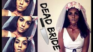 easy makeup diy dead bride costume curlobsessed gg