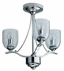 argos home fae 3 light glass ceiling