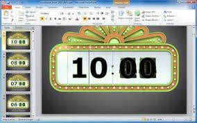 5 Minute Powerpoint Timer Awesome Countdown Powerpoint Templates