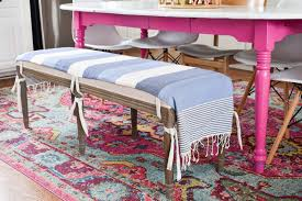 diy upholstered bench cover