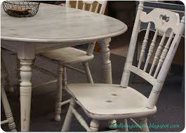 White Distressed Kitchen Table Doodle Bug White Grey Distressed Table Chairs Perfect For A