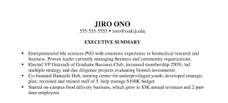 Consultant PhD Executive Summary