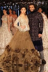 Manish Malhotra Designer Long Skirts Ranveer Singh And Alia Bhatt Bring Alive Manish Malhotras