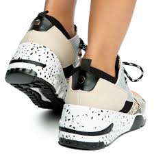 Yoki Size Chart Clint 16 Block Sneakers