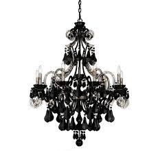 wrought iron black chandelier light small black lighting md small