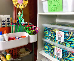 How To Conquer The Battle Of Organizing Kids Art Supplies