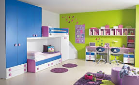 Purple Childrens Bedrooms Breathtaking Kid Girl Bedroom Ideas With Purple Themes Decoration